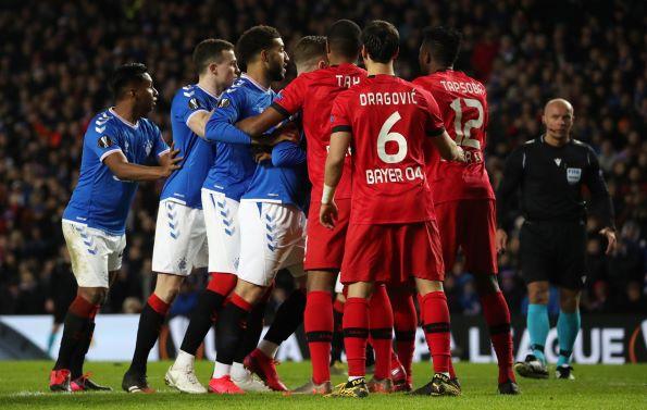 europa league match rangers