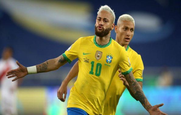 Neymar Jr Brazil team